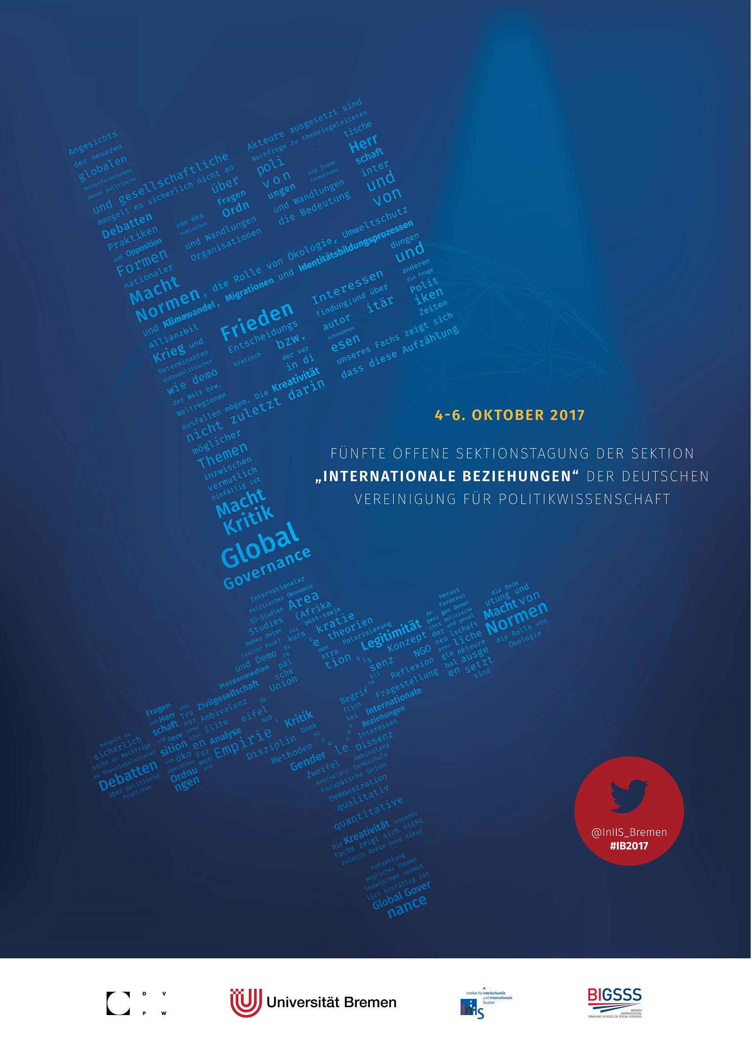 Plakat 5. Sektionstagung IB in der DVPW