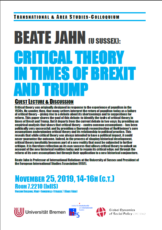 Poster Guest Lecture Beate Jahn